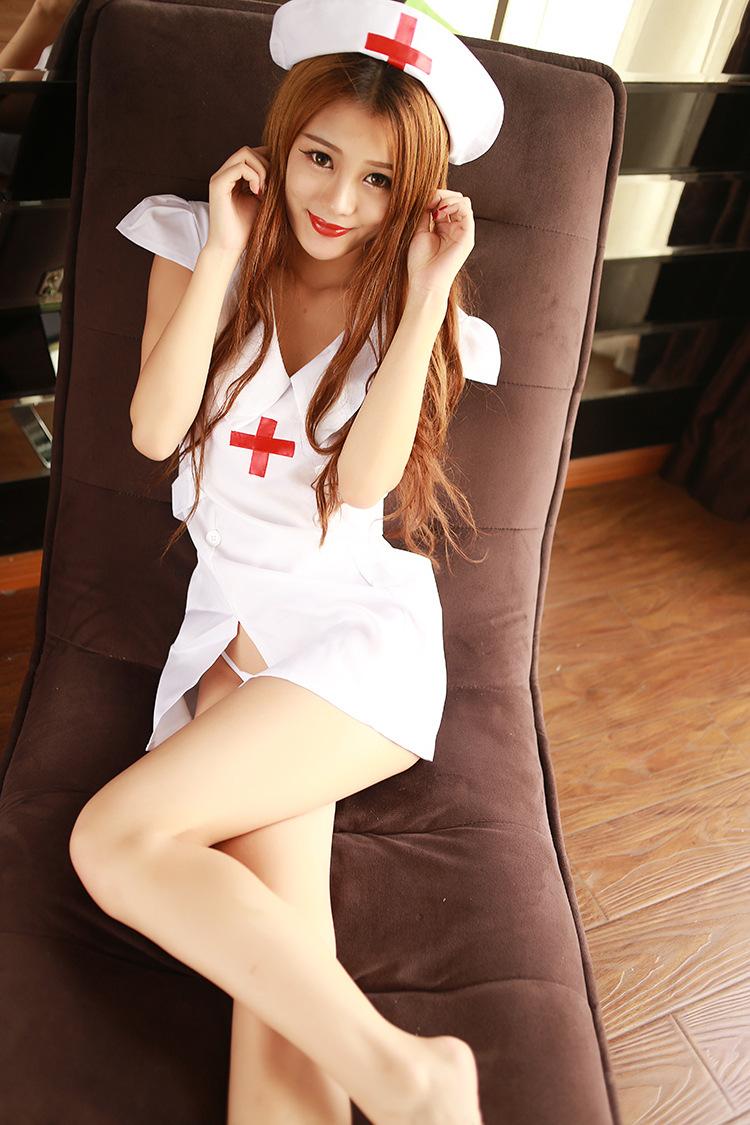 심플 원피스 간호사 코스프레
